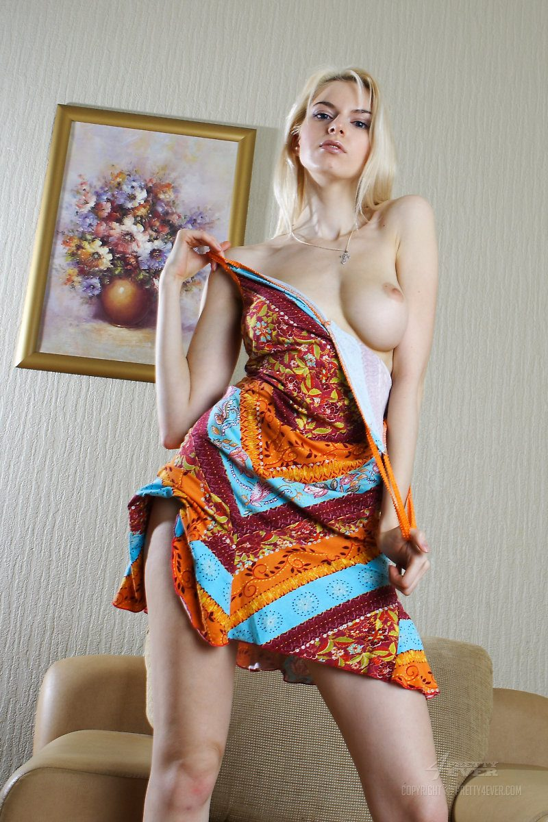 Maya nude on armchair armchair blonde boobs maya dmitrieva Pretty Ladies skinny
