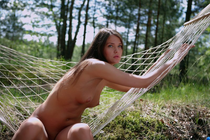 Chantelle nude on hammock chantelle hammock Pretty Ladies