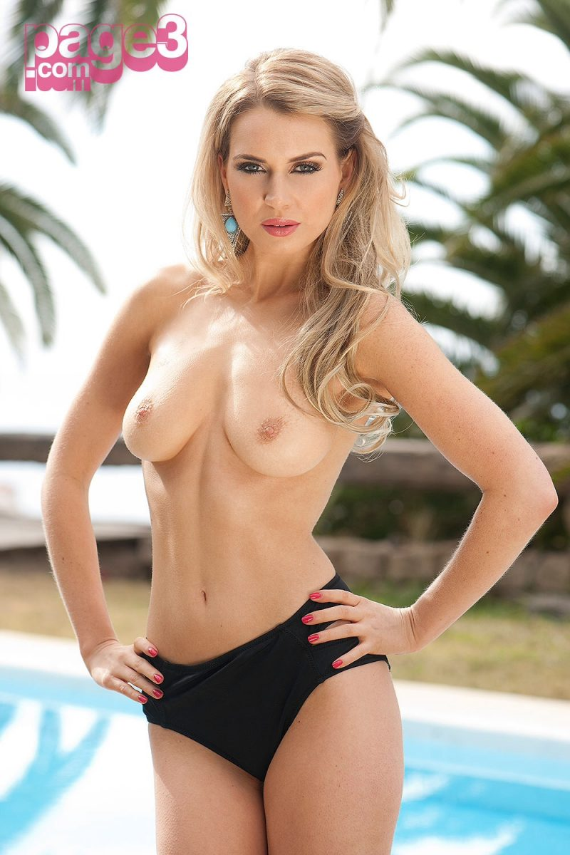 Emily O'Hara – Page3 photoshoot blonde boobs emily o'hara page3 Pretty Ladies