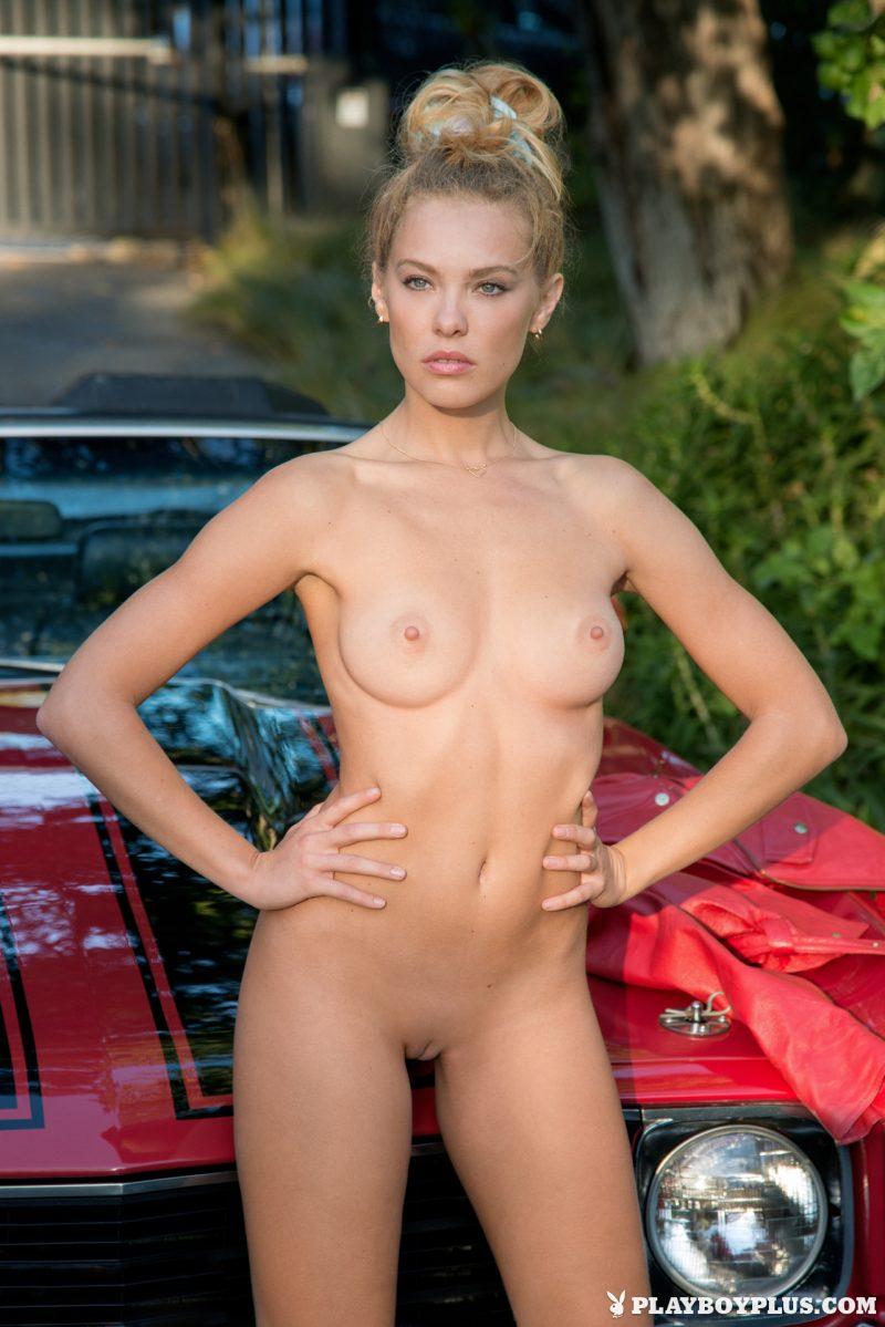 Kristy Garrett & Chevrolet Chevelle Automotive cars chevrolet kristy garett playboy Super Chicks