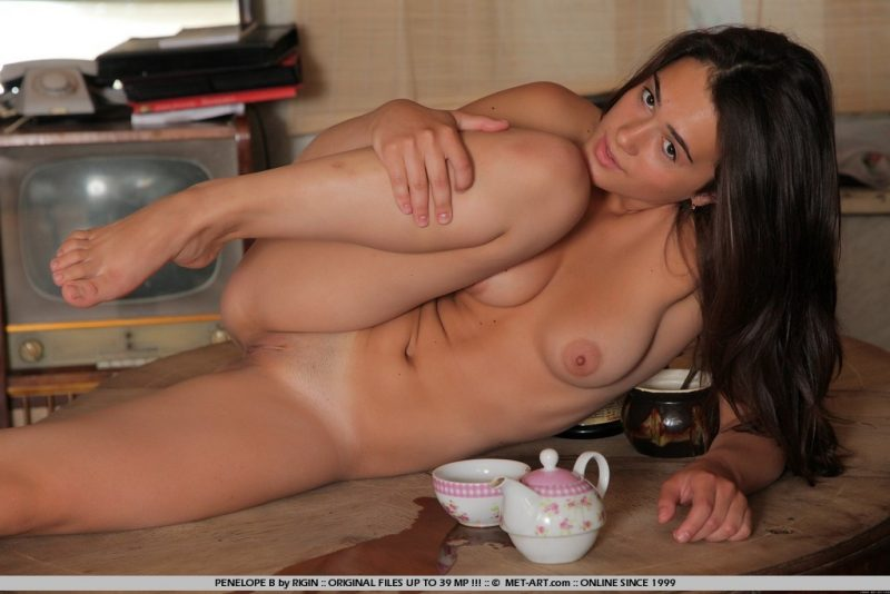 Penelope – Afternoon tea penelope b slava foltos table Young girls