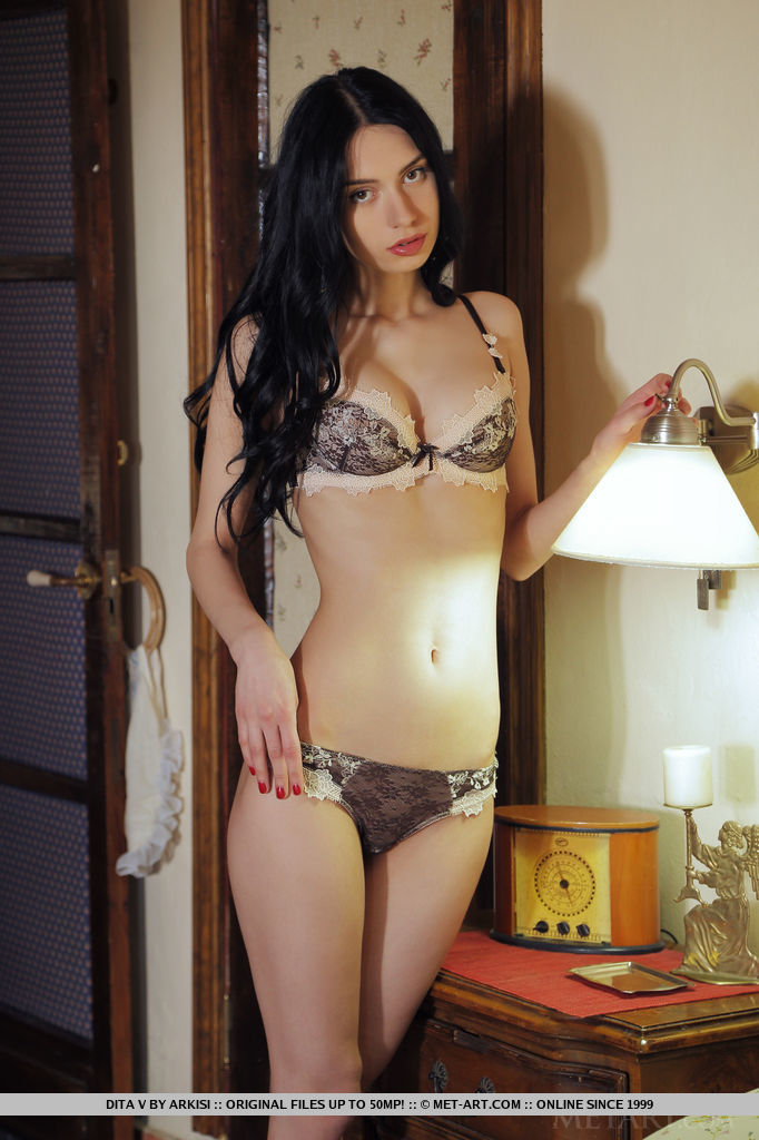 Dita in bedroom