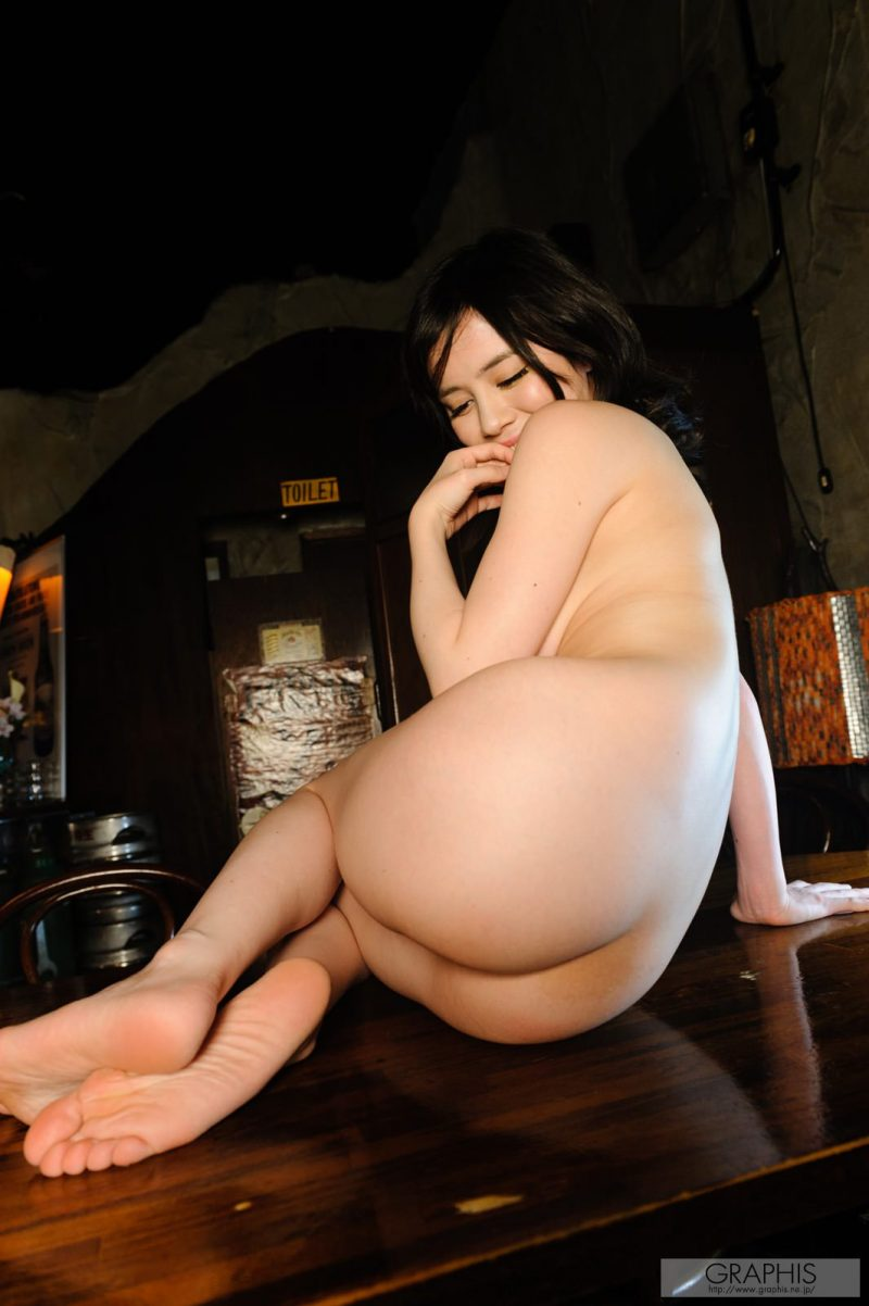 Aimi Yoshikawa in the bar aimi yoshikawa asian asians bar big boobs boobs
