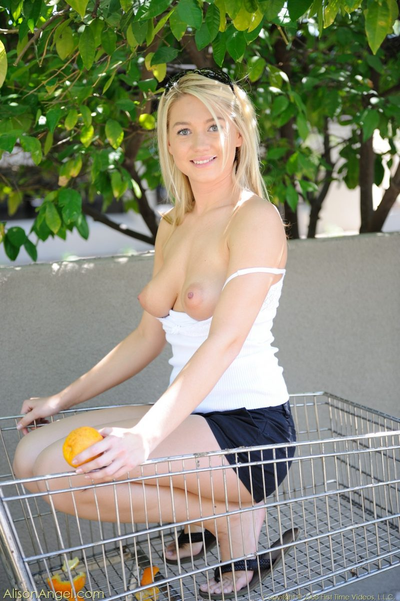 Alison Angel – Free oranges