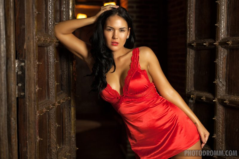 Kendra – Red nighty