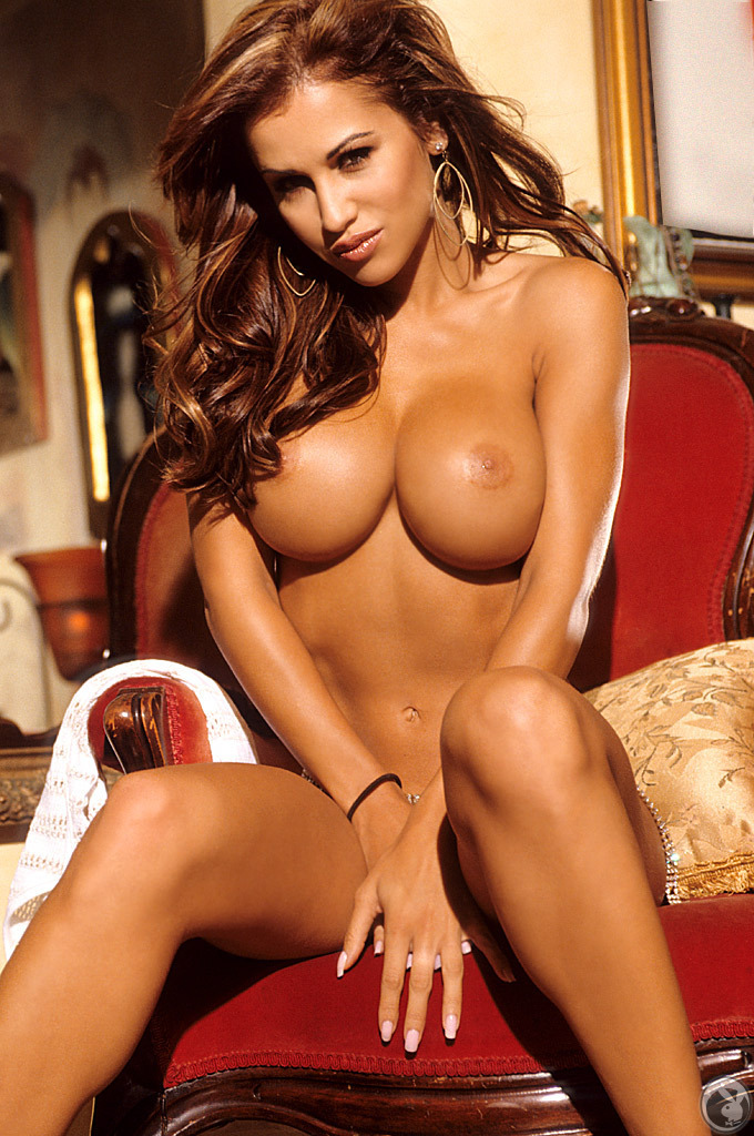 Jennifer Walcott on chair big tits Jennifer Walcott playboy redhead
