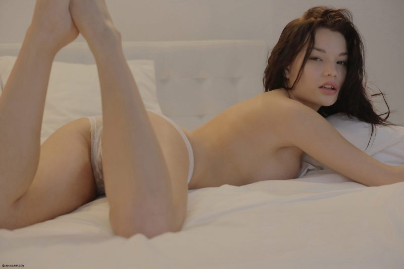 Nici Dee in bedroom