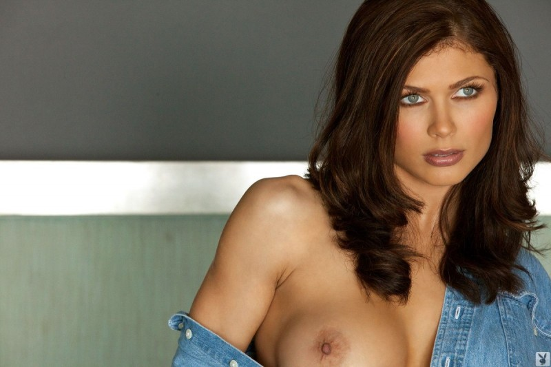Lynda Redwine in denim shirt