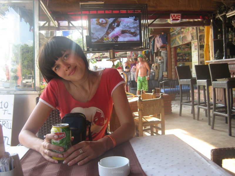 Russian amateur girl – Vacation photos