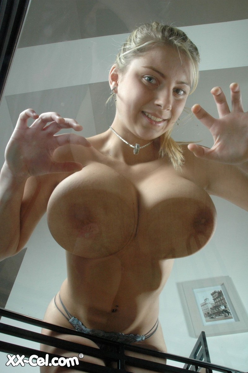 Katarina - glass table big tits blonde cathy katarina dubrova