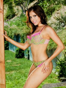 Erika Jordan – Bench in the backyard