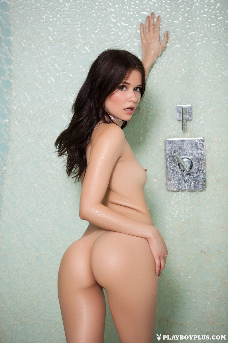 Salena Storm in the shower playboy salena storm shower Super Chicks