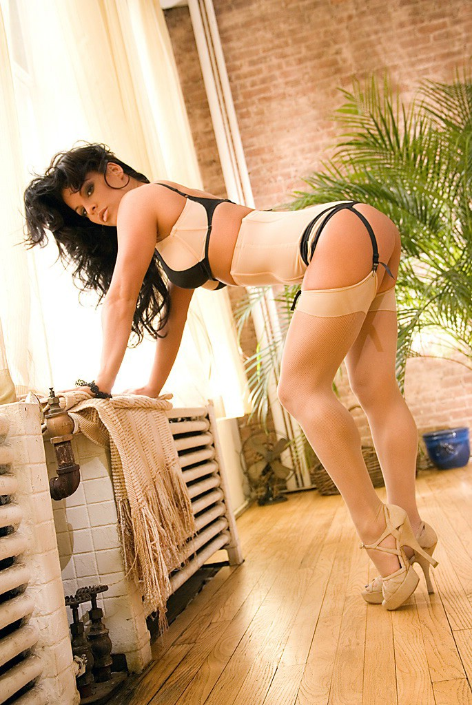 Nancy Erminia in sexy lingerie
