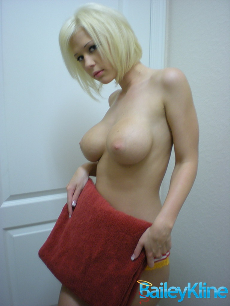 Bailey Kline doing laundry Bailey Kline big tits blonde
