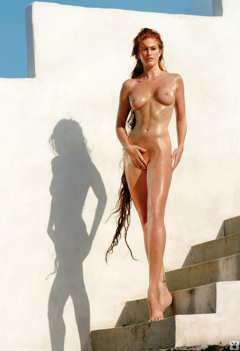 Angie Everhart in playboy Angie Everhart big tits celebrities playboy redhead