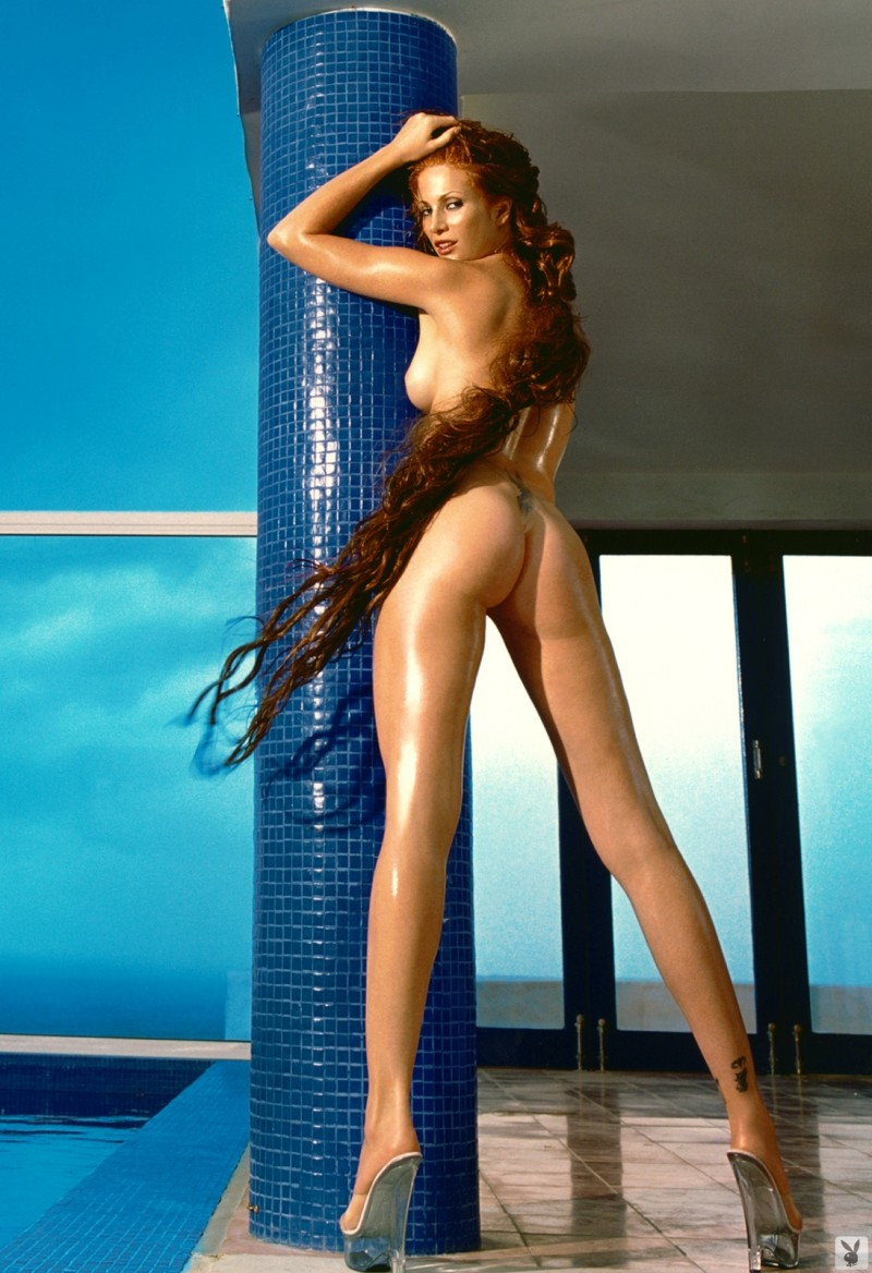 Angie Everhart in playboy