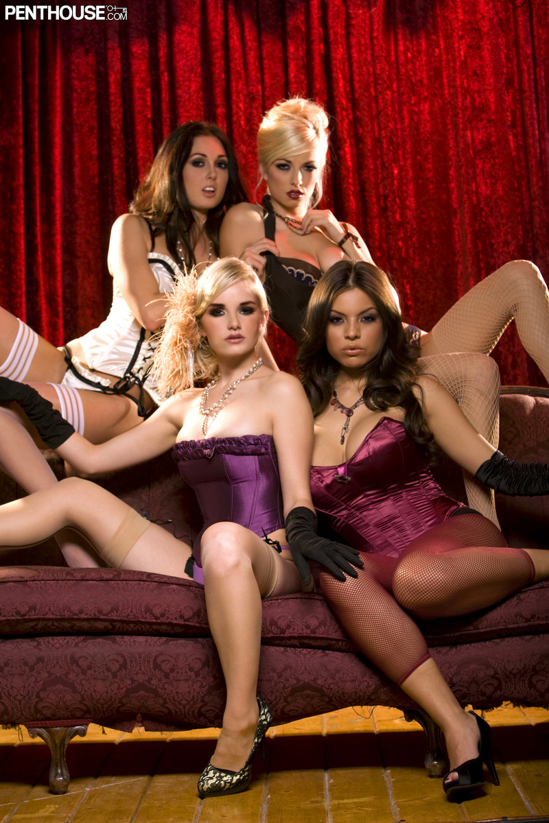 Danielle Trixie, Liz Ashley, Melissa Jacobs and Yurizan Beltran