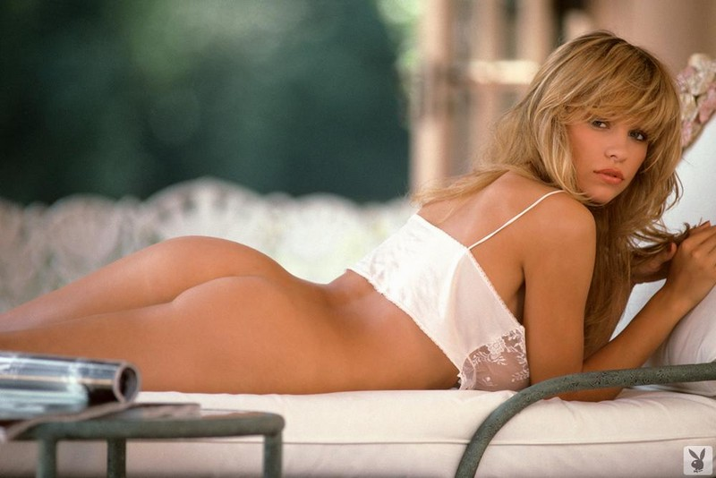 Young Pamela Anderson big tits blonde celebrities Pamela Anderson playboy